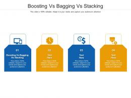Boosting Vs Bagging Vs Stacking Ppt Powerpoint Presentation Layouts Cpb