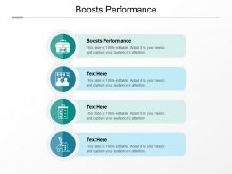 Boosts Performance Ppt Powerpoint Presentation File Slides Cpb