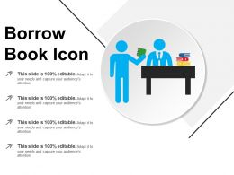 Borrow Book Icon