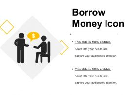Borrow Money Icon