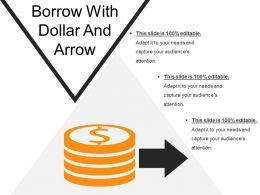 Borrow With Dollar And Arrow
