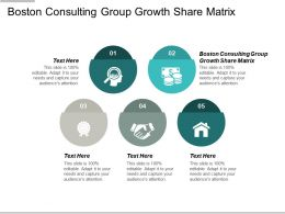 Boston Consulting Group Growth Share Matrix Ppt Powerpoint Slides Cpb