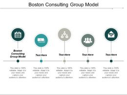 Boston Consulting Group Model Ppt Powerpoint Presentation Gallery Templates Cpb