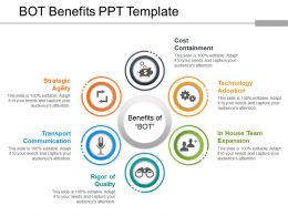 Bot Benefits Ppt Template