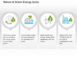 Botanical Analysis Energy Production Plant Green Energy Ppt Icons Graphics