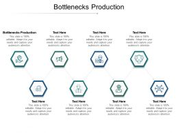 Bottlenecks Production Ppt Powerpoint Presentation Infographics Rules Cpb