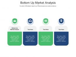 Bottom Up Market Analysis Ppt Powerpoint Presentation Inspiration Cpb