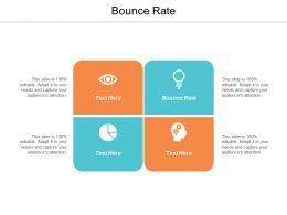 Bounce Rate Ppt Powerpoint Presentation Gallery Images Cpb