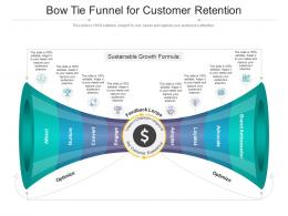 Bow Tie Funnel For Customer Retention