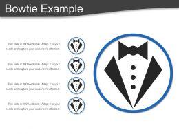 Bowtie Example