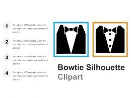 Bowtie Silhouette Clipart