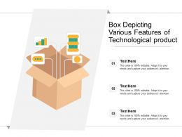Box Depicting Various Features Of Technological Product