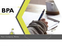 BPA Powerpoint Presentation Slides