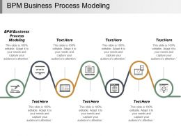 Bpm Business Process Modeling Ppt Powerpoint Presentation Infographic Template Deck Cpb