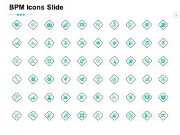 BPM Icons Slide Big Data Gears Analysis Ppt Powerpoint Presentation Icon Vector