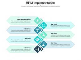 BPM Implementation Ppt Powerpoint Presentation Outline Tips Cpb
