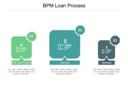 Bpm Loan Process Ppt Powerpoint Presentation Infographic Template Slides Cpb
