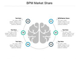BPM Market Share Ppt Powerpoint Presentation File Visuals Cpb