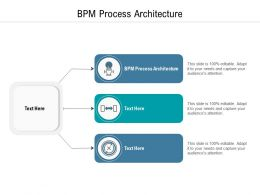 BPM Process Architecture Ppt Powerpoint Presentation Show Format Cpb
