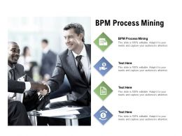 BPM Process Mining Ppt Powerpoint Presentationmodel Brochure