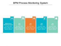 BPM Process Monitoring System Ppt Powerpoint Presentation Ideas Outfit Cpb