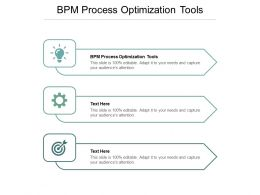 BPM Process Optimization Tools Ppt Powerpoint Presentation Examples Cpb