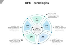 BPM Technologies Ppt Powerpoint Presentation Icon Designs Cpb