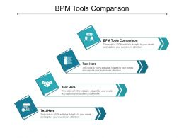 BPM Tools Comparison Ppt Powerpoint Presentation Layouts Cpb