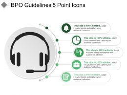Bpo Guidelines 5 Point Icons