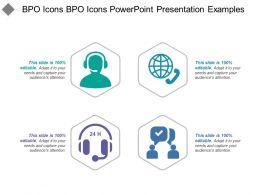 Bpo Icons Powerpoint Presentation Examples