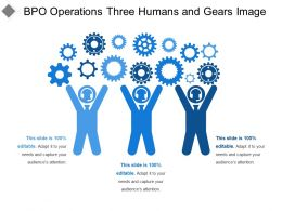 Bpo Operations Three Humans And Gears Image
