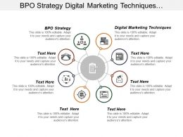 Bpo Strategy Digital Marketing Techniques Management Performance Workforce