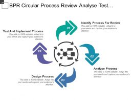 Bpr Circular Process Review Analyse Test Implement