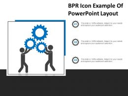 Bpr Icon Example Of Powerpoint Layout