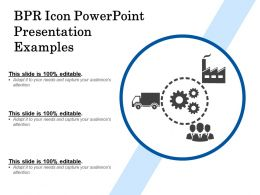 Bpr Icon Powerpoint Presentation Examples