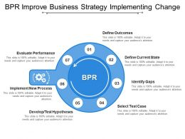 Bpr Improve Business Strategy Implementing Change