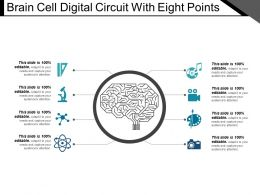 Brain Cell Digital Circuit With Eight Points