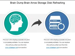 Brain Dump Brain Arrow Storage Disk Refreshing