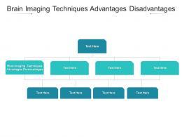 Brain Imaging Techniques Advantages Disadvantages Ppt Powerpoint Presentation Styles Format Ideas Cpb