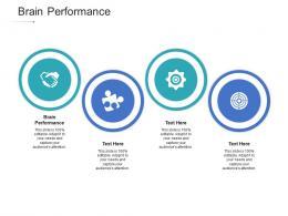 Brain Performance Ppt Powerpoint Presentation Infographics Ideas Cpb