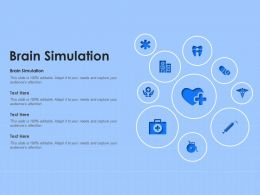 Brain Simulation Ppt Powerpoint Presentation Show