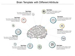 Brain Template With Different Attribute