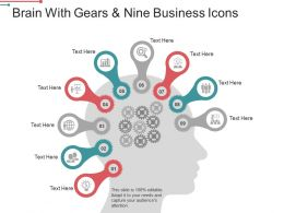 brain_with_gears_and_nine_business_icons_powerpoint_graphics_Slide01