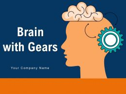 Brain With Gears Technology Innovation Knowledge Network Strategic