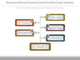 brainstorm_alternative_solutions_powerpoint_slide_design_templates_Slide01