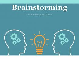 Brainstorming Creative Idea Plan Business Success Challenges Learn