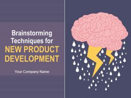 brainstorming_techniques_for_new_product_development_complete_powerpoint_deck_with_slides_Slide01