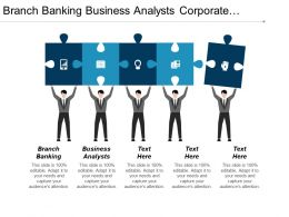 Branch Banking Business Analysts Corporate Restructuring Real Estate Investment Cpb