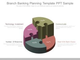 Branch Banking Planning Template Ppt Sample
