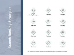 Branch Banking Strategies Ppt Powerpoint Presentation Infographic Template Clipart Cpb